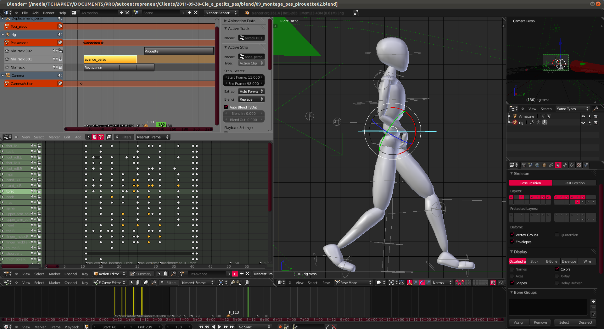 Animation 3d pas de danse vertex in polygon for Logiciel design 3d