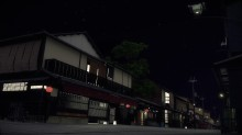 Version nocturne de la scène