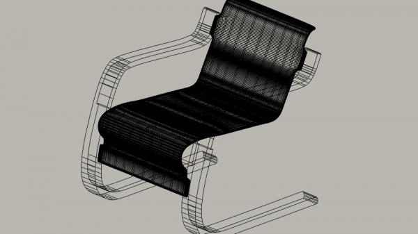 Maillage du modèle 3D