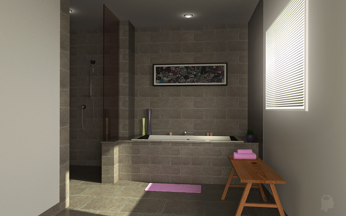 The gallery for blender 3d architecture - Simulateur salle de bain 3d ...